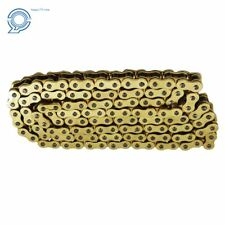 Drive Chain Gold Color With O-Ring  525-120 ATV Motorcycle 525 Pitch 120 Links