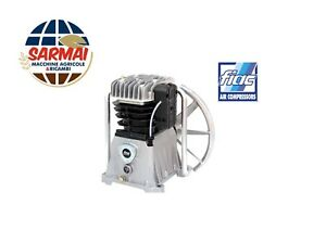 Testata Gruppo pompante FIAC AB515 compressore lubrificato bicilindrico