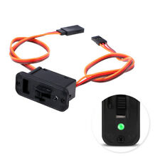 Led rc switch jr rc on off connectors accessory for rc receiver switchesWTES