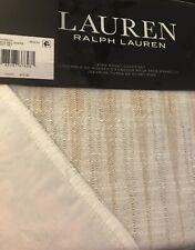 Ralph Lauren Bedding- Mason Geometric Stripe- 3P King Duvet Cover & 2 Shams- New