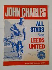 More details for 1971 john charles testimonial leeds vs john charles all stars programme frwe p&p