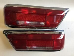 NEW Pair Red early style taillights for mercedes 230SL 250sl 280sl w113