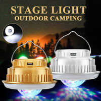 Outdoor Solar Camping Stage Light Emergency Lantern Crystal Magic Ball Lamp