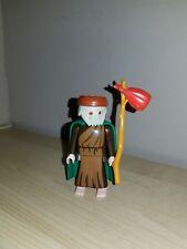 PLAYMOBIL Figure Christmas Nativity Shepherd w/ Hobo Sack Cape 3367