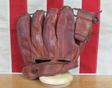Vintage 1950s Ross Sports Store Leather Baseball Glove Fielders Mitt Don Mueller