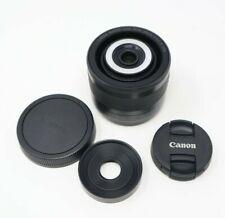 Canon Super Macro EF-M 28mm F/3.5 IS STM Lens - LED Lights