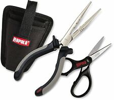 Rapala Fisherman's Pedestal Tool Combo Holder Sheath Pliers Scissors Rptc