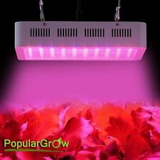 PopularGrow 300W LED Grow Lights 9 Bands Commercial Veg&Plant Hydroponics System
