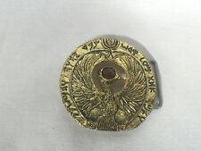 Indiana Jones RA Headpiece Belt Buckle, Solid Metal, Amazing!l