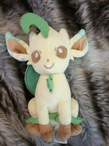 Pokemon Leafeon Plush Genuine TOMY Brand Soft Toy 20cm