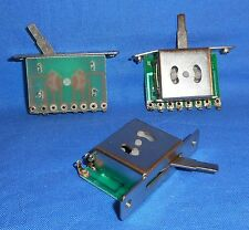 3 NEW 5 POSITION SWITCHES FOR FENDER IBANEZ WASHBURN ELECTRIC GUITAR PICKUPS