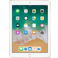 "Apple  iPad (2018)  Gold 32GB 9.7"" WiFi Only  AU WARRANTY Tablet"