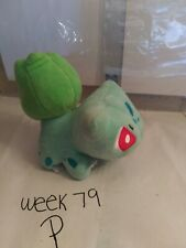 "Nintendo Pokemon Center Monster Bulbasaur 5"" Plush Figure Stuffed Animal Toy"