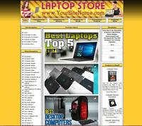 ULTRABOOKS LAPTOPS STORE - PROFESSIONALLY DESIGNED AFFILIATE WEBSITE FOR SALE
