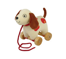 """Puppy Pull Toy 7"""" by Rich Frog Educational Development Toy Plush Dog New s"""