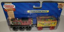 Thomas The Train Wooden Railway  Celebration Salty with Confetti Car BDG17 NEW!