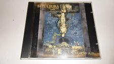 CD  Chaos a.d. von Sepultura