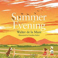 Summer Evening, Very Good Condition Book, de la Mare, Walter, ISBN 9780571314669