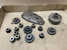 Commercial Sewing Machine Parts Gears Union Top Plate Pulley Large Lot Smp 21