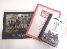 2016 iKON SEASON'S GREETINGS MAUS PAD + NOTE + POSTER KONY'S ISLAND YG LIMITED
