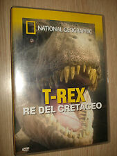 DVD N°102 T-REX RE DEL CRETACEO NUOVA LUCE SUL T-REX NATIONAL GEOGRAPHIC
