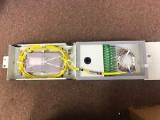 24 Fiber Fiber Wall Mount w/Sc/Apc Includes Pigtails & Trays