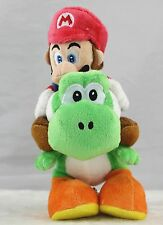 9inch Super Mario Plush Doll Riding On Green Yoshi Stuffed Animal Toy