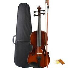 Hot Acoustic Violin 1/4 Natural Color + Case+ Bow + Rosin for 6-8 years Beginner