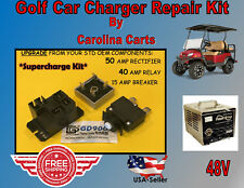 Club Car PowerDrive Battery Charger Repair Kit Golf Cart  48 V 22110 SUPERCHARGE