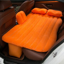 Car bed outdoor travel PVC flocking mattress car supplies inflatable bed