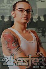 CHESTER BENNINGTON - A3 Poster (ca. 42 x 28 cm) - Linkin Park Clippings Sammlung