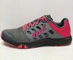 Inov-8 Women's All Train 215 Gray/Red Running Shoes Size 7.5