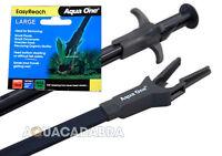 Aqua One EasyReach Aquarium Tongs 70cm long - Easy-to-Use Grabber Fish Tank