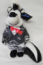 1999 Warner Bros Studio Store Groom Pepe Le Pew Mini Bean Bag-Beanie