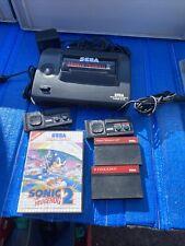 Sega Master System 2 Mit 3 Spiele Und 2 Controller