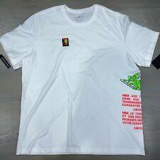 Nike Air Jordan Jumpman Wings  Label T Shirt Men's Size 2XL AQ3846-100 New