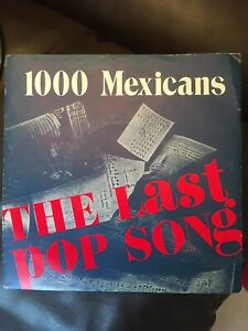 1000 MEXICANS, THE LAST POP SONG/CHINESE WHISPERS, ABS021