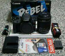Canon EOS Rebel SL1 100D 18MP HD 1080p DSLR Camera IN BOX W/ 18-55mm Lens Tested