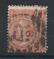 Grande Bretagne N°32 Obl (FU) 1865 Planche 10 - Victoria
