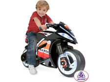 Kids Ride On Motorcycle 6v Battery Powered w/ Training Wheels injusa repsol