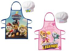 Official Paw Patrol Apron Set Kids Children Christmas Baking Gift 3-8 Years
