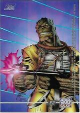 Star Wars Galaxy Three Clearzone Card E3 4-LOM ****Jeff Rebner **** Topps - 1995
