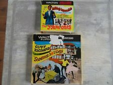 super 8 film Cliff Richard Summer Holiday Colour/Sound Young Ones B/W Sound