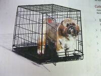 MidWest I Crate home traing system folding dog crate with divider Small
