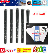 10 x LK Royal XV 580 Mid Size Golf Grips with Free Fitting Kit - AU Stock