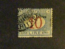 Eritrea #J11 used signed Bela Szekula-Budapest c203 170