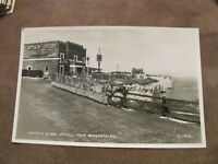 Real photographic Kent postcard - Captain Digby Hotel Broadstairs - old cars
