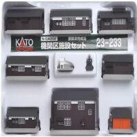 Kato 23233 N Wooden Station Buildings Set