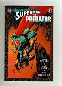 Superman vs. Predator TP TPB (2000) soft cover 1st printing
