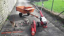 HONDA F 460_Einachser mit Anhänger, Balkenmäher,Bodenfräse